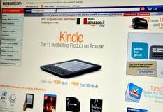 Amazon website Royalty Free Stock Photo