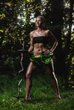 Amazon woman Royalty Free Stock Photo
