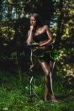 Amazon woman Stock Photography