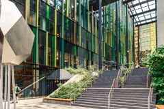 The Amazon World Headquarters Campus Spheres USA royalty free stock images