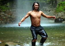 Amazonas-Anleitung Lizenzfreie Stockbilder