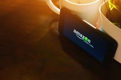Amazonas-Augenblick-Video lizenzfreies stockfoto