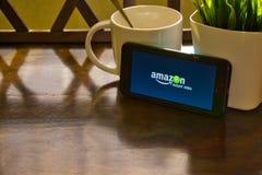 Amazonas-Augenblick-Video lizenzfreie stockbilder