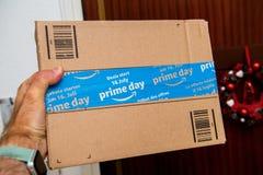 Amazonas bereiten Tagesspezielle Sicherheitsdichtung für den Verkaufstag vor Lizenzfreies Stockfoto