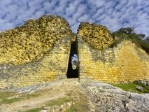 amazonas chachapoyas堡垒kuelap秘鲁 库存照片