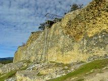 amazonas chachapoyas堡垒kuelap秘鲁 免版税库存照片