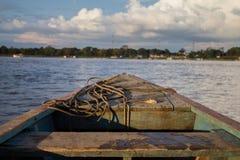 Amazonas Colombia. Beautiful River Amazonas transportation Colombia Stock Image