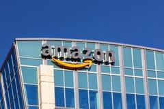 Amazonas-Gebäude Lizenzfreie Stockbilder