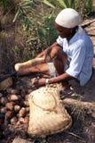 Amazonas-indische Handarbeit Lizenzfreies Stockfoto