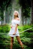 Amazonas-Mädchen Stockbild