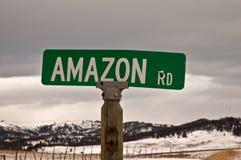 Amazonas-Straße Lizenzfreies Stockfoto