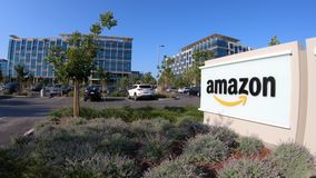 Amazonas Sunnyvale Califórnia vídeos de arquivo