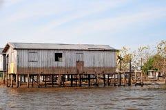 Amazonas-typisches Haus Lizenzfreies Stockbild