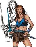 Amazone 2. illustration stock