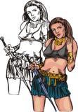 Amazone 24. illustration stock
