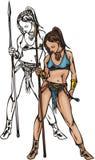 Amazone 3. illustration stock