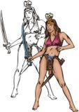 Amazone 31. illustration stock