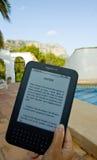 Amazone allument l'E-Lecteur photo libre de droits