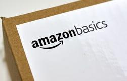 Amazonek podstaw wysyłki pudełko Zdjęcie Royalty Free