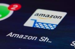 Amazonië app royalty-vrije stock foto