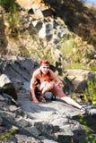 Amazonië met een koele bui Stock Afbeeldingen