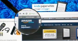 Amazonië op het Web Royalty-vrije Stock Foto's