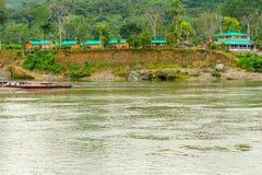 Amazonian Lodge In Ecuador Stock Photos