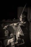Amazonian Shaman Portrait Royalty Free Stock Images