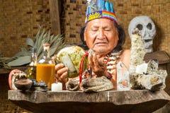 Amazonian szamanu portret Obraz Stock