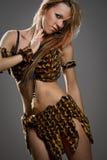Amazonian woman Stock Image