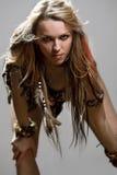 Amazonian woman Stock Images