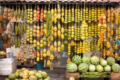 Amazonic传统果子 免版税库存照片