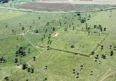 Amazonic Geoglyphs stockfotografie