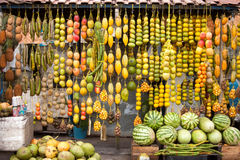 Amazonic traditional fruits Royalty Free Stock Photos