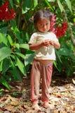 Amazonisches Mädchen lizenzfreie stockfotografie