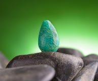 Amazonite also called Amazon stone Stock Photography