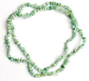Amazonite chip necklace Stock Images