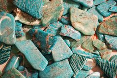 Free Amazonite Mineral Texture Stock Photos - 151401863