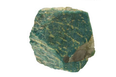 Amazonite. With splashes of green royalty free stock photo