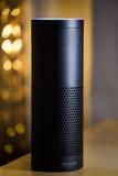 Amazonka głosu Echowy rozpoznanie zdjęcia stock