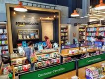 Amazonka książkowy sklep Zdjęcie Royalty Free