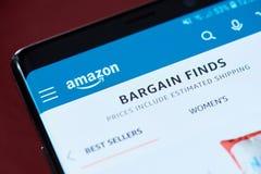 Amazonki app menu zdjęcie royalty free