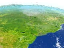 Amazonki delta na planety ziemi Zdjęcia Royalty Free