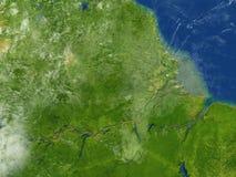 Amazonki delta na planety ziemi Zdjęcie Stock