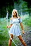 Amazonki dziewczyna Fotografia Royalty Free
