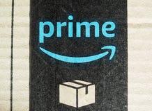 Amazonki pierwszorzędna etykietka Zdjęcie Stock