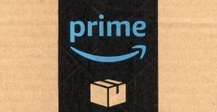 Amazonki pierwszorzędna etykietka Obrazy Royalty Free