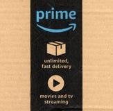 Amazonki pierwszorzędna etykietka Obrazy Stock