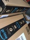 Amazonki primy pudełka fotografia stock