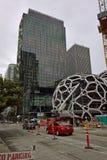 Amazonki Seattle kwatery główne - biosfery w budowie Zdjęcia Royalty Free